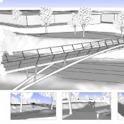 PBOT reveals design updates for Sullivan's Crossing, Flanders bridges