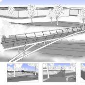 PBOT reveals design updates for Sullivan's Crossing, Flanders bridges