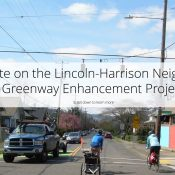 After outcry, City changes plans and makes stronger case for Lincoln-Harrison greenway update
