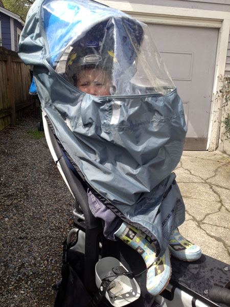 Most toddlers like these DIY bike seat covers.