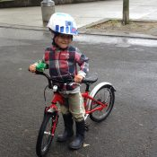 Tips for tackling toddler helmet hesitancy