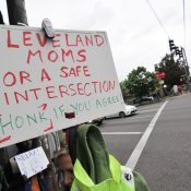 Cleveland High principal worried about traffic violence on National Walkout Day