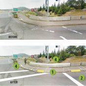 ODOT will make improvements to I-205 path at Glisan, Maywood Park and Stark/Washington this summer