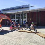 Bicycle Celebration Day: Bike Helmet Fittings + Lumberyard Bike