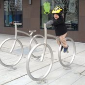 What prevents you from biking with your young children?