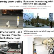 The Monday Roundup: A car vending machine, pro bike x-rays, a very strong woman, and more
