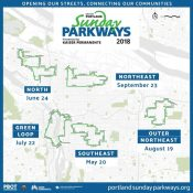 Sunday Parkways will return to downtown in 2018