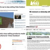 REI puts 'hold' on Vista brands while CamelBak, Giro and others defend themselves
