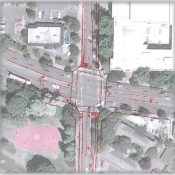 Consultants to ODOT in 2014: Widen the bike lanes on SE 26th at Powell