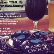 Residential Infill, Parking & Trees - the Happy Hour