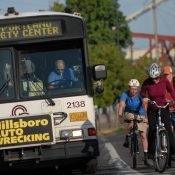 'Rogue' union member blamed for candidate question tying road diets to bus driver attacks