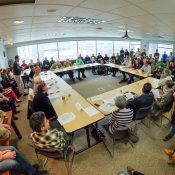 Cycling advocates pack meeting of Parks Board as they consider Off-road Cycling Plan