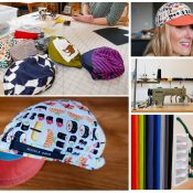 A visit to Misia Pitkin's Double Darn cap-making studio