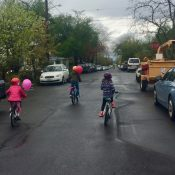 Humans, bike maps, and of course, Google: How to choose family-friendly routes