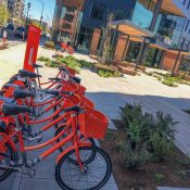 Portland developer opens first privately sponsored Biketown station