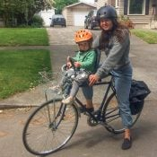 Family biking profile: Ali Reis and her daughter Lark
