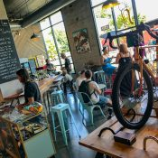 Golden Pliers, a bike shop and cafe, opens on North Skidmore at Interstate