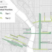 Activists hope to give Enhanced Transit Corridors Plan more teeth at first Council hearing today