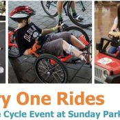 At North Portland Sunday Parkways there will be a place where everyone can ride