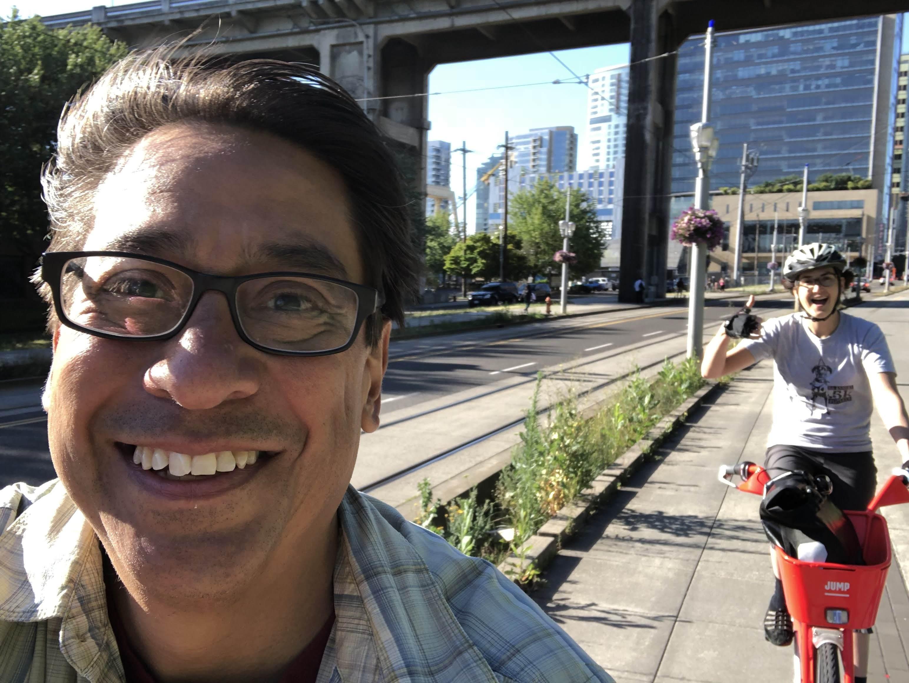 My First Time Using Bike Share And On An E Wheeee Photos Armando Luna