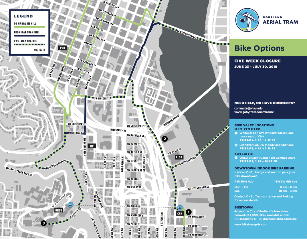 Five-week Aerial Tram closure starts tomorrow: Here's what you need on wayne state university campus map, harvard medical school campus map, historic portland oregon map, pfizer campus map, penn's campus map, oregon health sciences university campus map, university of florida campus map, virginia commonwealth university campus map, u of az campus map, pcc sylvania campus map, massachusetts general hospital campus map, portland va campus map, the university of iowa campus map, google campus map, kaiser campus map, stanford university campus map, baylor college of medicine campus map, marquam hill campus map, portland state university parking map, portland state university campus map,