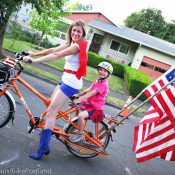 Pedaling is patriotic! Enjoy the 4th of July