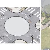 PBOT's latest greenway proposal includes pocket parks, mini-roundabouts, and a dead-end for drivers
