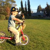 Family Biking: Preludes to pedaling their own set of wheels
