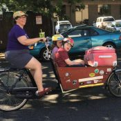 Family biking profile: Kathleen Youell moved to Portland to live carfree