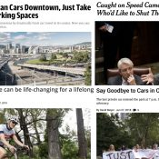 The Monday Roundup: LeBron in LA, a $920 ticket, saved by an e-bike, and more