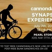 Cannondale Synapse Test Ride Event