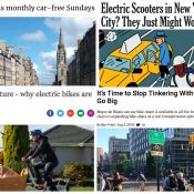 The Monday Roundup: War on Cars podcast, biking to birth, Portland history, and more