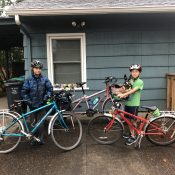 Family Biking: How was the first day of school?