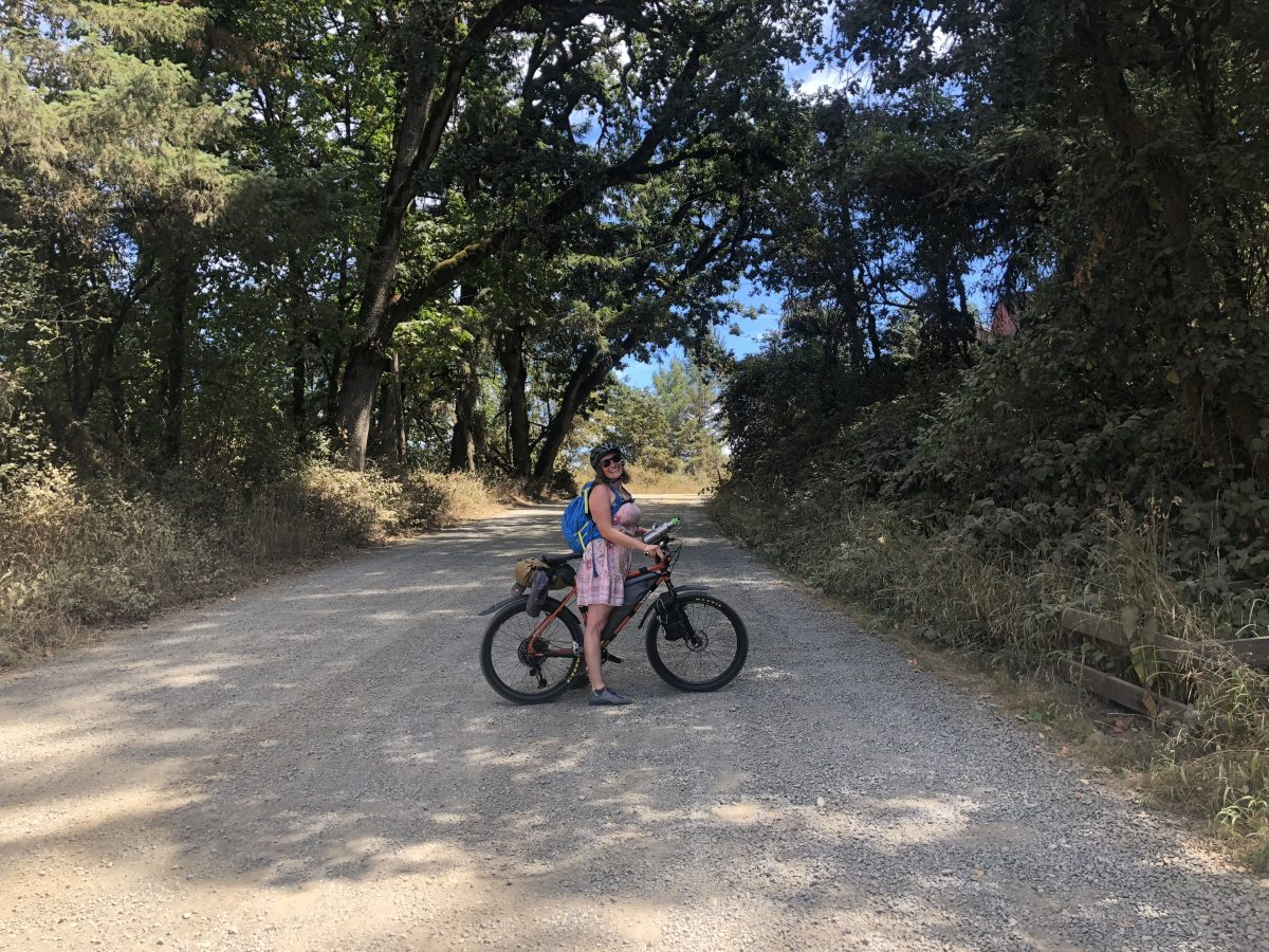 When moms escape: Tackling the unpaved Trask River Road route to the coast  - BikePortland org