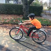 Family Biking: A cautionary tale of kids riding too-small bikes