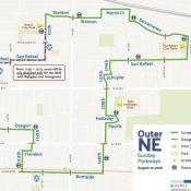 Sunday Parkways Outer Northeast
