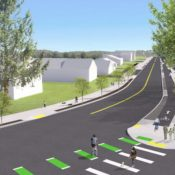 Bikeway design firms up for long-awaited SW Capitol Highway project