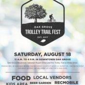 Oak Grove Trolley Trail Fest
