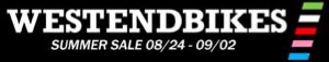 West End Bikes Summer Sale