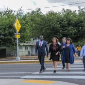 At 122nd Avenue event, Eudaly touts potential of 'transportation done right'