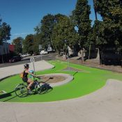 First look at PBOT's latest bike traffic circle