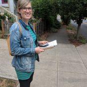 Taking greenway activism door-to-door in northeast Portland