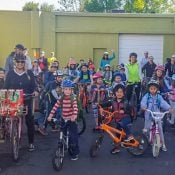 Family Biking: Time to plan for Walk and Roll to School Day