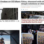 The Monday Roundup:  Fast women, Vision Zero progress, Trump's tariffs, and more