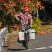 Danny Dunn is Portland's pedaling trash picker-upper