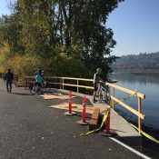 Springwater Corridor open a week early!