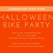 Halloween Bike Party at The Lumberyard