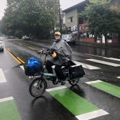 Family Biking: What's your favorite rain gear? (I asked my kids too)
