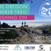 The Oregon Timber Trail - 'Pushing On' Film Showing