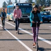 People love scooters and they're replacing car trips says City of Portland survey